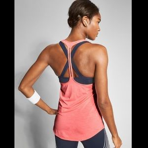 ATHLETA Box Jump Tank with attached bra XS